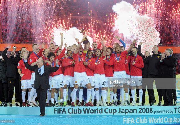 O Manchester United foi a última equipe inglesa a vender o Torneio Mundial de Clubes, em 2008.