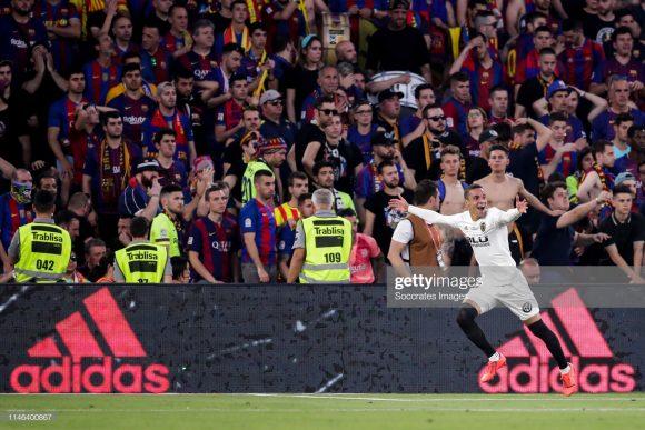 O Valencia levou a melhor sobre o Barcelona na final da edição anterior da Copa do Rei, batendo os catalães por 2 a 0 na Andaluzia.