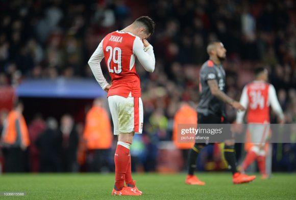 O Arsenal acumula sete eliminações seguidas nas oitavas de final da Champions League. Na última delas, os Gunners foram humilhados pelo Bayern por 10 a 2 (placar agregado), na temporada 2016/17.