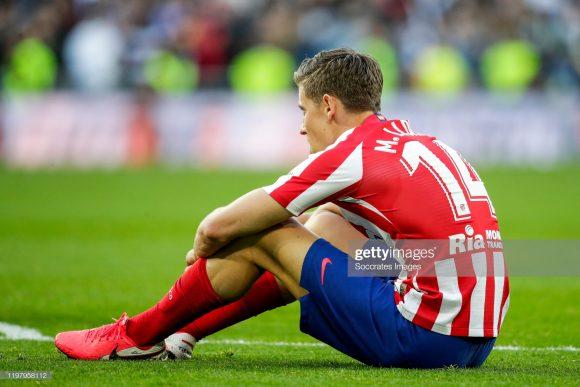 Com 22 gols marcados nas 22 primeiras rodadas da LaLiga, o Atlético Madrid obtém uma pífia média de 1 gol por partida no campeonato.