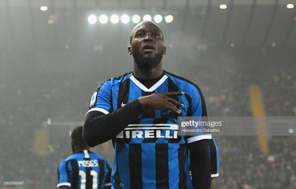 De olho nele: o belga Romelu Lukaku é o artilheiro da Inter no Calcio com 16 gols marcados.