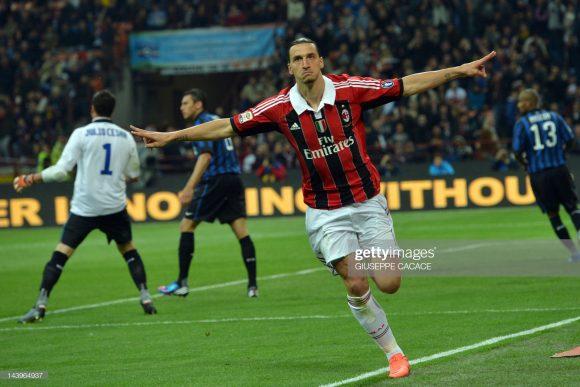 O último Derby della Madonnina disputado por Zlatan Ibrahimovic deu-se em 2012. Naquela oportunidade, o Milan, de Ibra, perdeu da Inter por 4 a 2.