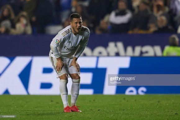 Eden Hazard, a principal contratação do Real Madrid na temporada, já desfalcou a equipe por mais de três meses por conta de lesões.