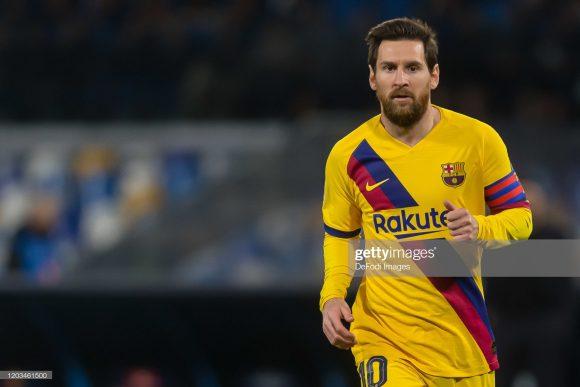Lionel Messi é o artilheiro da LaLiga com 18 tentos marcados.