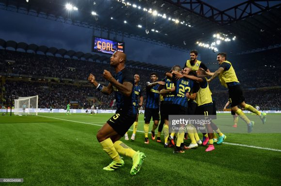 A última vitória da Internazionale sobre a Juventus deu-se em setembro de 2016 (2 x 1). Desde então, os octacampeões italianos não perderam mais o Derby D'Italia.