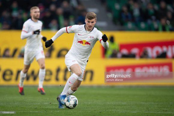 O atacante Timo Werner, autor do gol dos alemãe no jogo de ida, é o artilheiro do RB Leipzig na temporada com 26 tentos marcados.