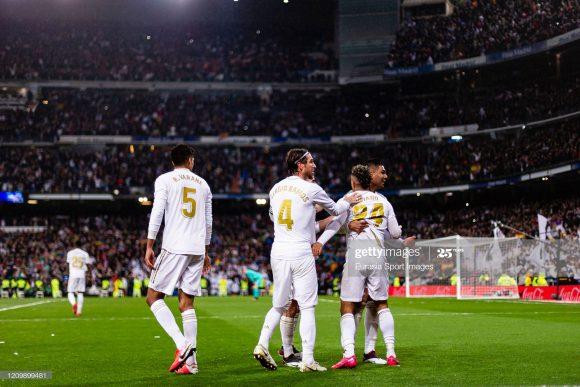 Os dois grandes momentos vividos pelo Real Madrid na temporada, foram a conquista da Supercopa da Espanha e a vitória diante do Barcelona por 2 a 0 no Santiago Bernabéu.