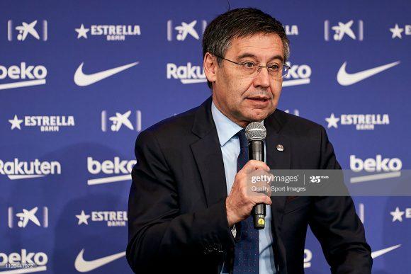 Acusado de corrupção por dirigentes do Barcelona, o presidente Josep Maria Bartomeu terminará seu conturbado mandato em junho de 2021.