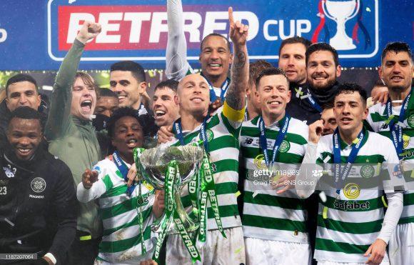 O Celtic faturou a tríplice coroa do futebol escocês (Liga + Copa + Copa da Liga) nas últimas três temporadas (2016/17, 2017/18 e 2018/19).