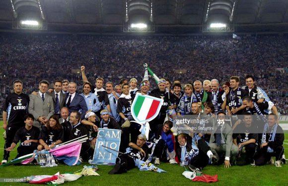 Campeã italiana duas vezes ao longo da história, a Lazio não conquista o scudetto do Calcio há 20 anos.