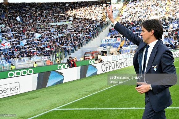 A Lazio está em vias de anunciar a renovação de contrato do treinador Simone Inzaghi, que passará a ser válido até junho de 2023.