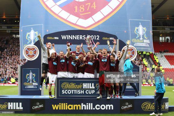 O último título conquistado pelo Hearts deu-se em 2012, ano em que o time de Edimburgo venceu a Copa da Escócia.