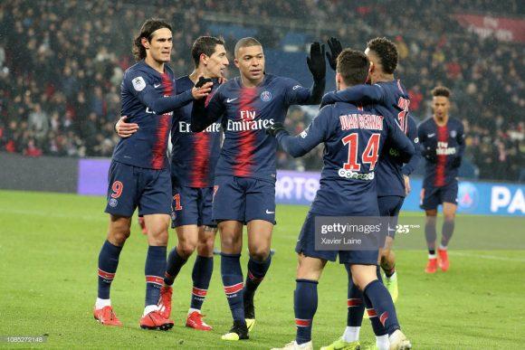 O PSG encerrou a Ligue 1 sendo dono do melhor ataque da competição. Foram 75 gols em 27 jogos, o que significa uma média de por partida.