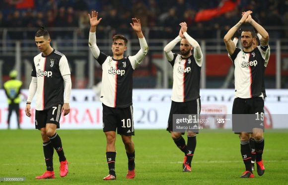 A Juventus derrotou o Milan nos últimos sete jogos disputados entre eles no Allianz Stadium.