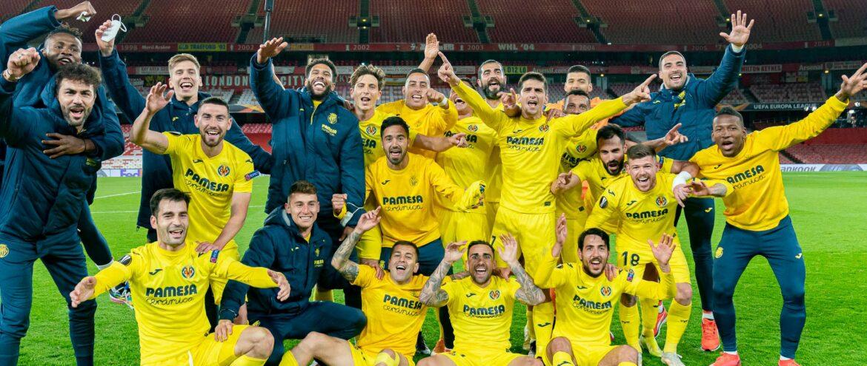 Villarreal supera sina das semifinais, e está na decisão da Europa League 2020/21