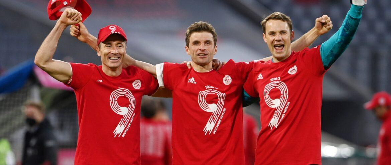 Bayern, eneacampeão alemão
